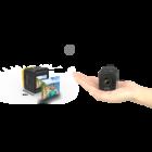 SJCAM M10 Cube WiFi Full HD akciókamera, sportkamera vízálló tokkal + kiegészítőkkel (fekete)