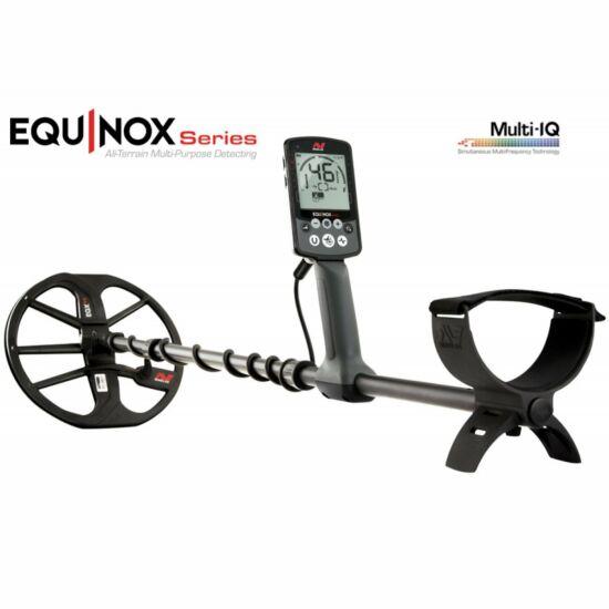 Minelab Equinox 800 multifrekvenciás vízálló fémkereső detektor