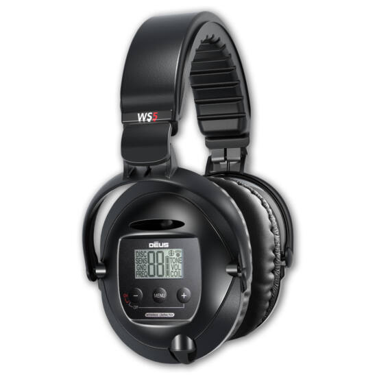XP Deus fémdetektorhoz WS5 vezeték nélküli fejhallgató