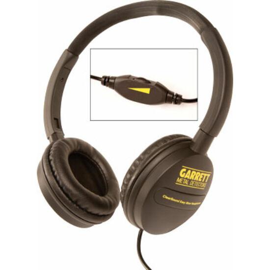 Garrett Clear Sound fejhallgató hangerőszabályzóval