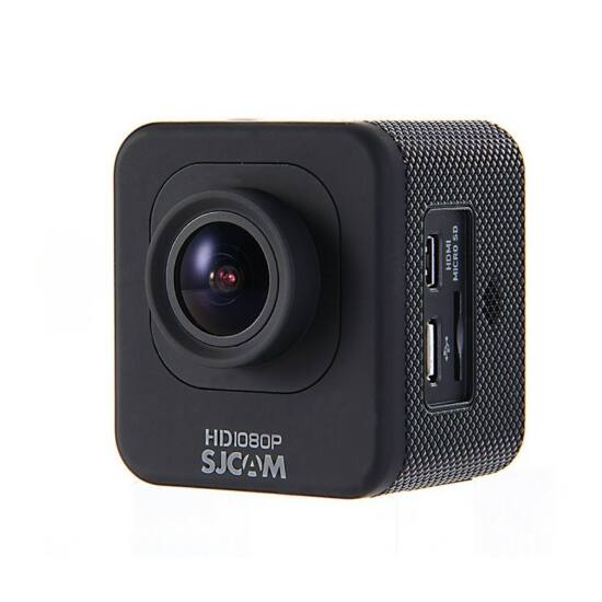 SJCAM M10 Cube Full HD akciókamera, sportkamera vízálló tokkal + kiegészítőkkel (fekete)