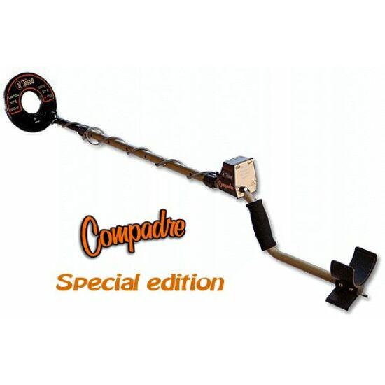 Tesoro Compadre fémdetektor, fémkereső kölcsönzés 7 napra