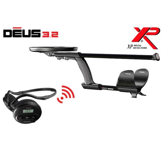 Xp Deus v4.0 Lite fémkereső detektor WS4 fejhallgatóval, 28 cm-es tekerccsel