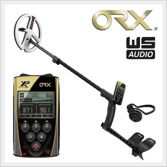 XP ORX fémkereső komplett szett 22HF keresőfejjel, távirányítóval és WSAUDIO fejhallgatóval