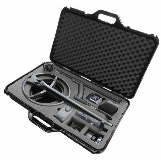 XP fémkereső tároló és hordozó koffer