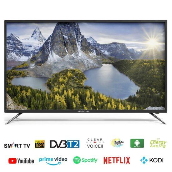"""Herenthal Smart LED televízió TV 127 cm, 50"""" Full HD, DVB-T2, 3 x HDMI Android X50ST18191001"""