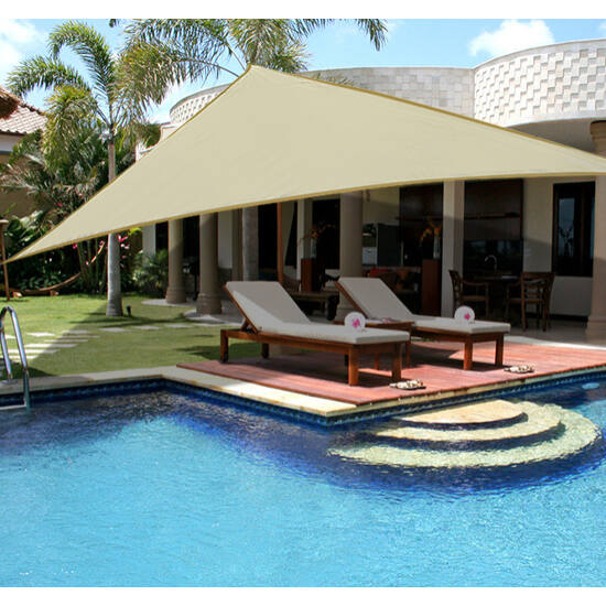 Napvitorla - árnyékoló teraszra, erkélyre és kertbe háromszög alakú több színben és méretben - HDPE masszív anyagból