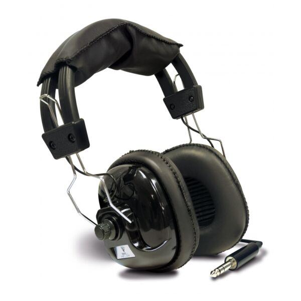 Teknetics Pro párnázott sztereó fejhallgató - állítható hangerővel