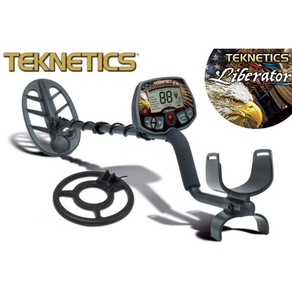 """Teknetics Liberator Pro fémkereső 2 db keresőfejjel (1 db 11"""" DD + 1 db 8"""")"""